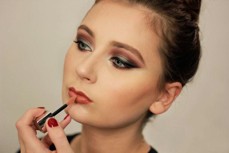 maybelline color elixir, make up, look of the day, lipgloss, augen make up, dear fashion, mode blog, fashion blog, make up artist
