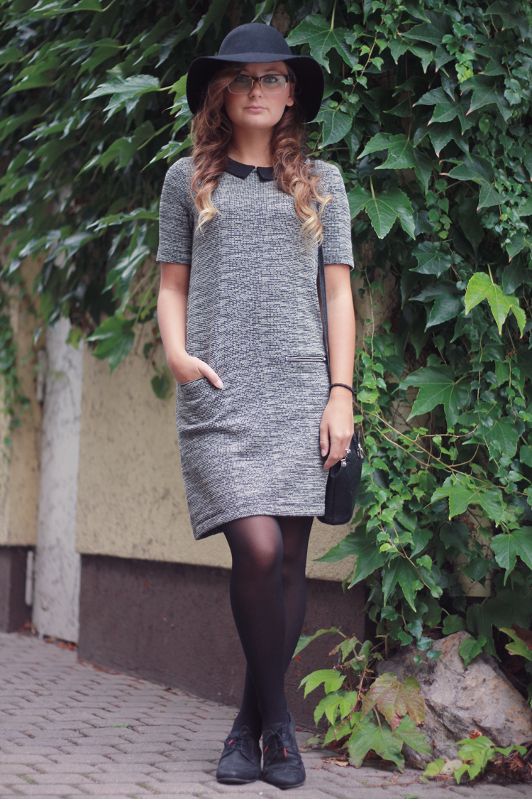 lookbook, dear fashion, Outfit, Hut, jacquard, mode blog, fashion blog