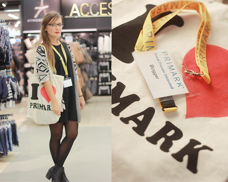 Outfit, Primark, Weiterstadt, Blogger, Pre opening, ffm blogger, dear fashion, fashion blog