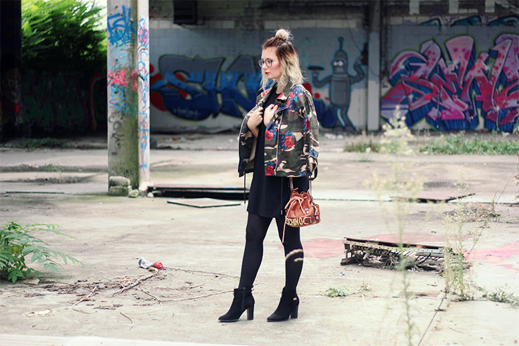 Lookbook, Style, outfit, make up, beauty, modeblog, fashionblog, dear fashion blog, lost place, mannheim, opel kannenberg, camouflage, moschino, vintage