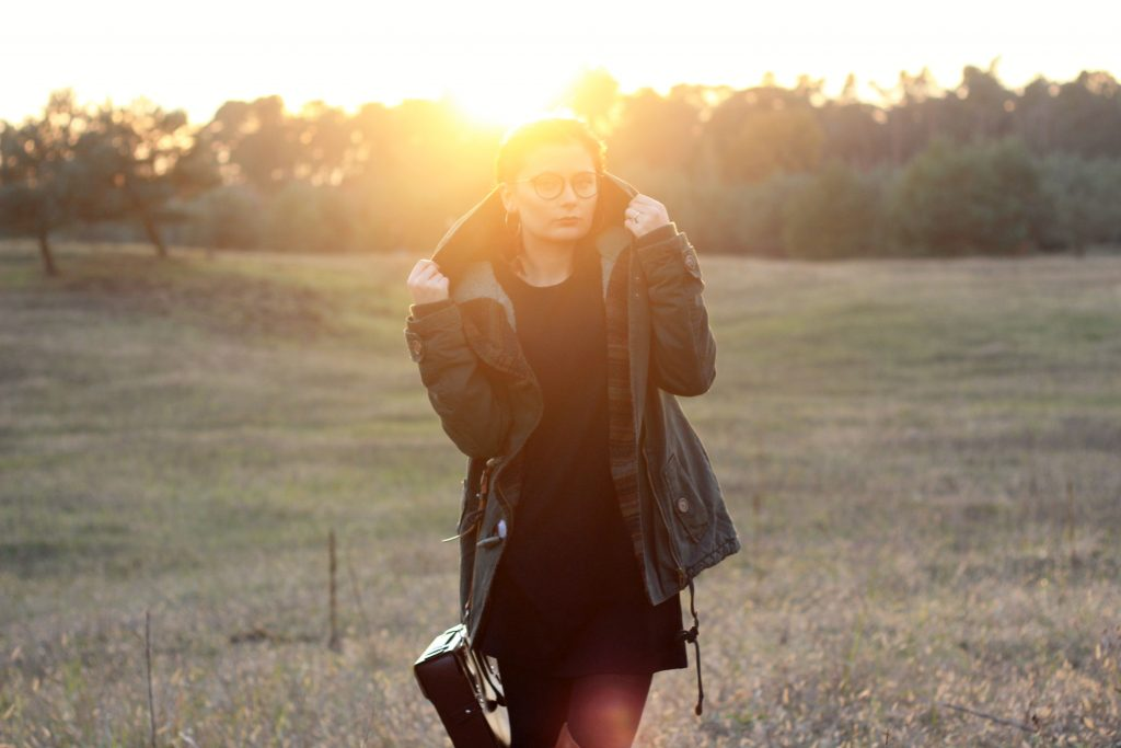 Sunset, Dafflecoat, review, about you, ootd, lookbook, outfit, modeblogger, fashionblogger