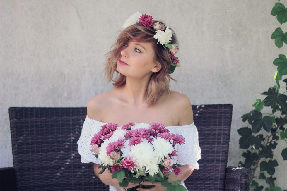 boho, hochzeit, wedding, vintage, diy, pinterest, blumenkranz, blumenkrone