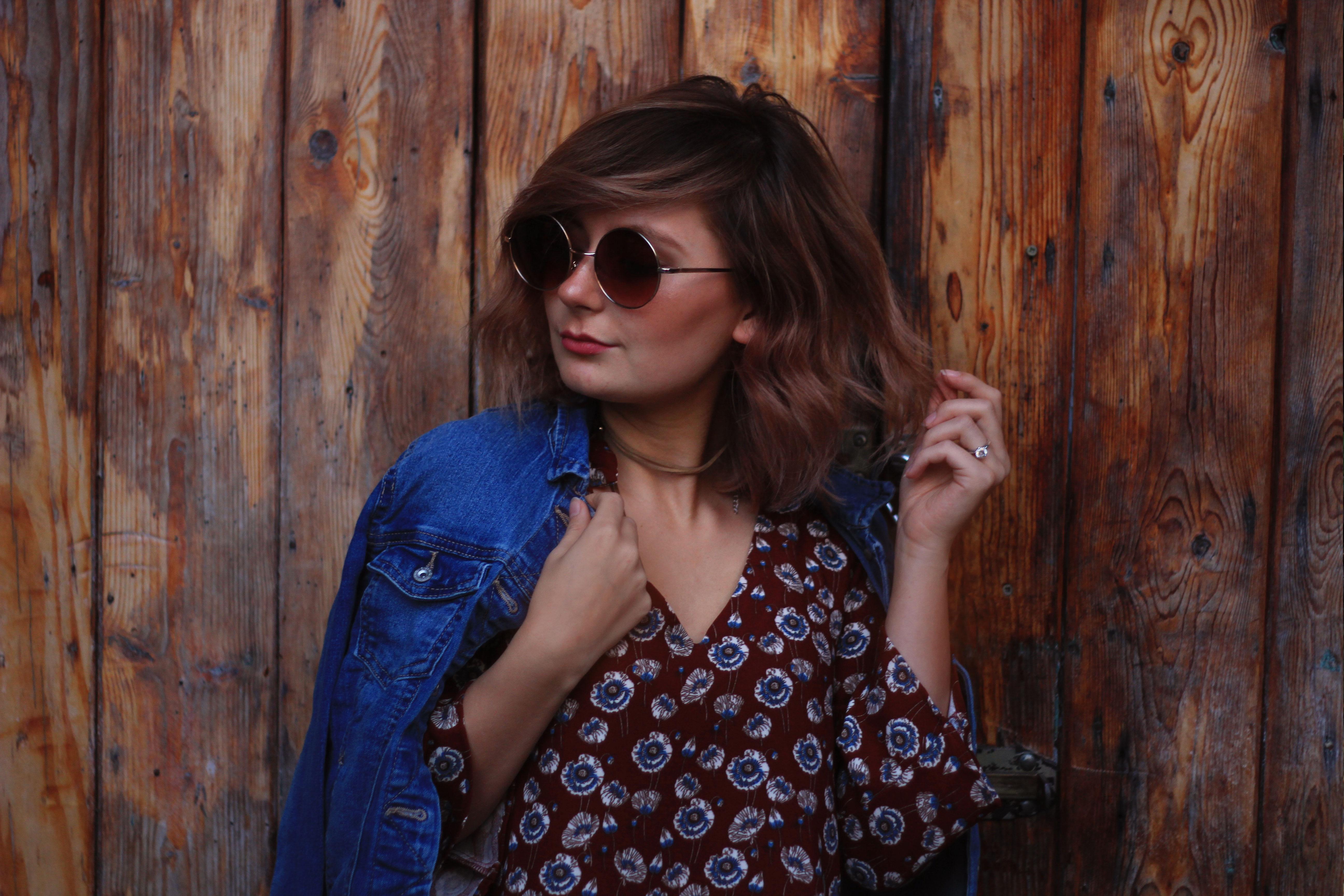 modeblogger, longbob, runde sonnenbrille, fashionblogger, modeblogger, mannheim, retro, boho, bohemian